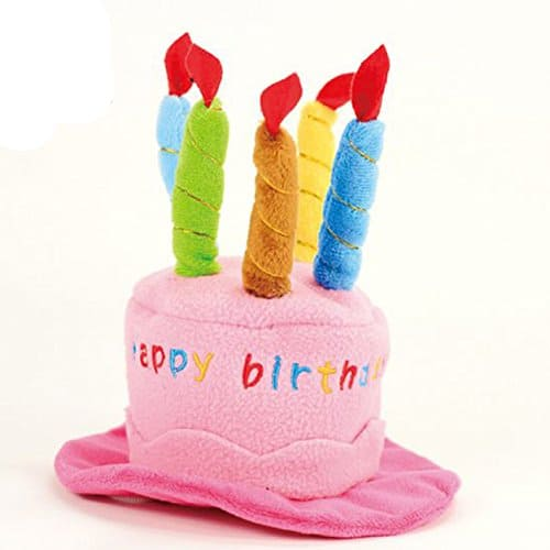 Mkono Cute Birthday Hat with Cake & Candles Party Costume Headwear for ...