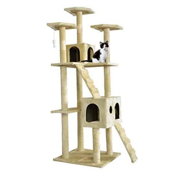 Superieur BestPet CT 9073 Cat Tree Scratcher Play House