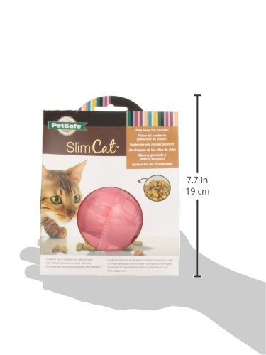 PetSafe SlimCat Meal-Dispensing Cat Toy, Great For Food Or