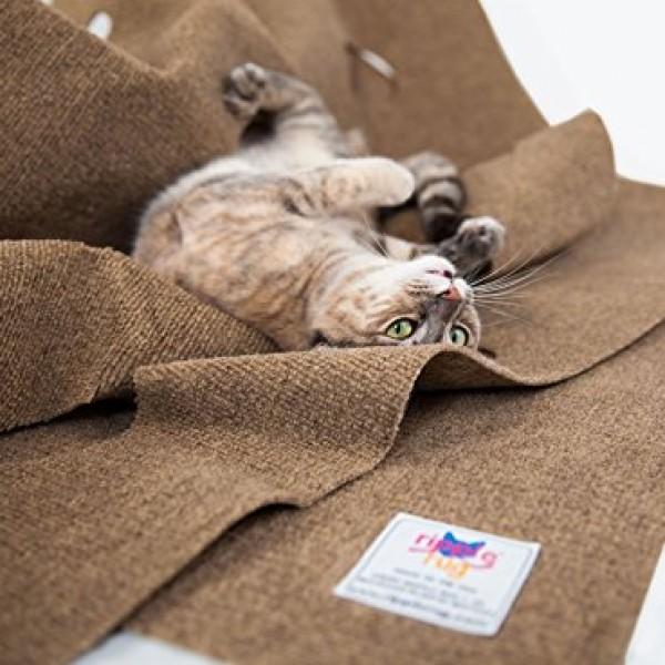 The Ripple Rug Cat Activity Play Mat Made