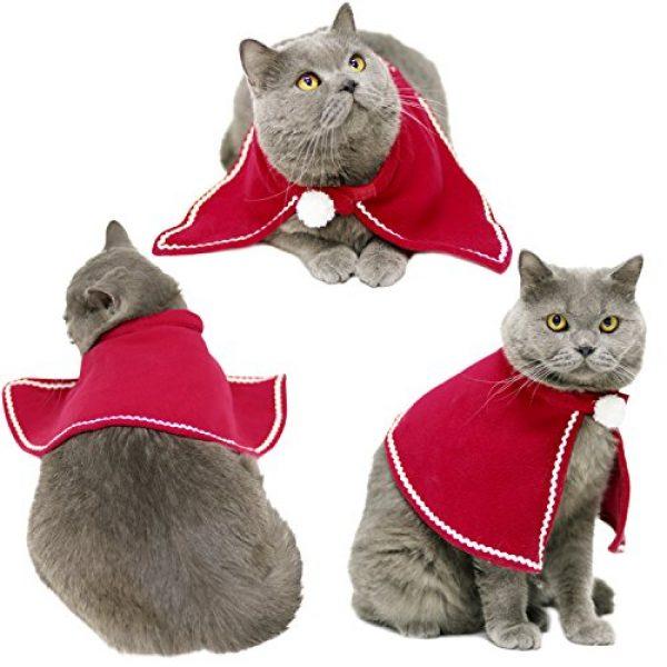 Perfect Christmas Cat Hat, Legendog Handmade Knit Pet Hat Cute Lovely Xmas  QA09